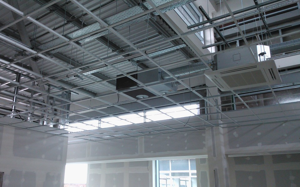 Fire Barrier Install : Passive fire products suspended ceiling barrier systems