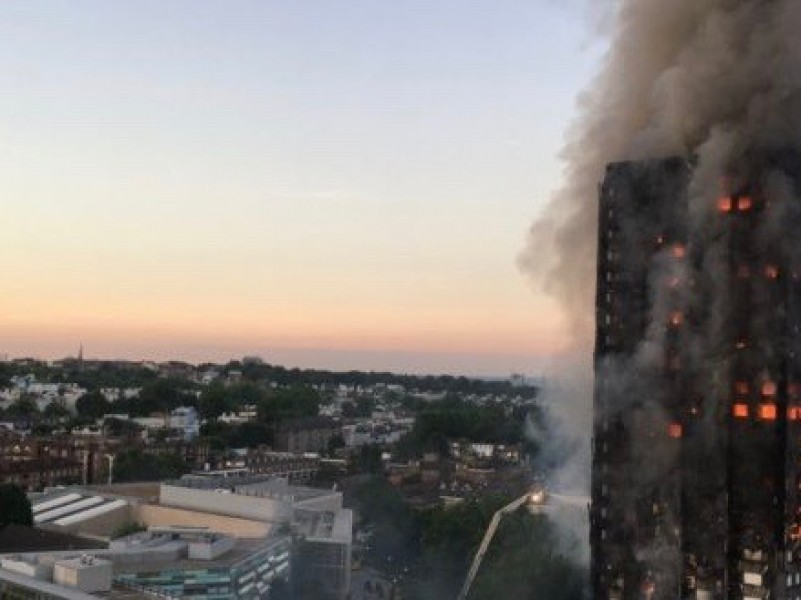 Leaked report blames Grenfell disaster on botched refurbishment