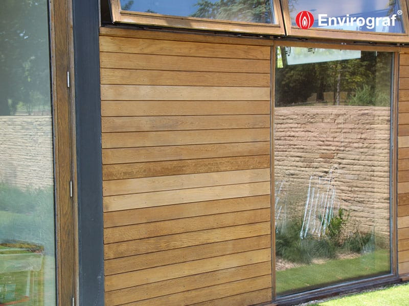 Envirograf ES/VFR Fire Protection Coating for Wood