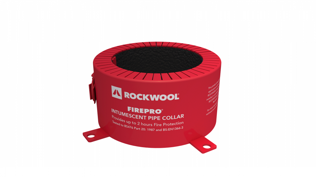 4hr Rockwool Pipe Collar