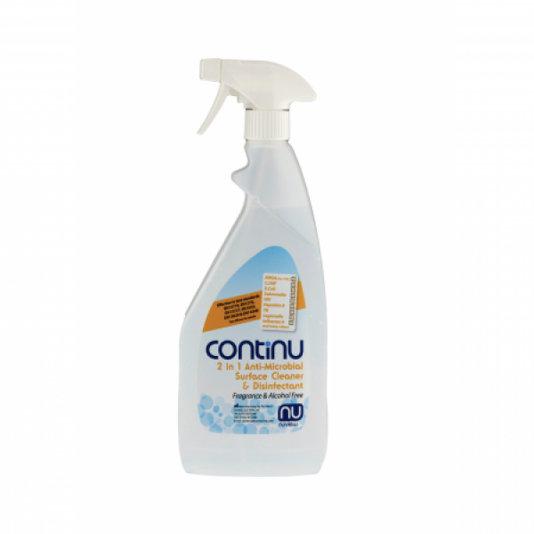 Continu Anti-Microbial 2 in 1 Surface Cleaner & Disinfectant 750ml