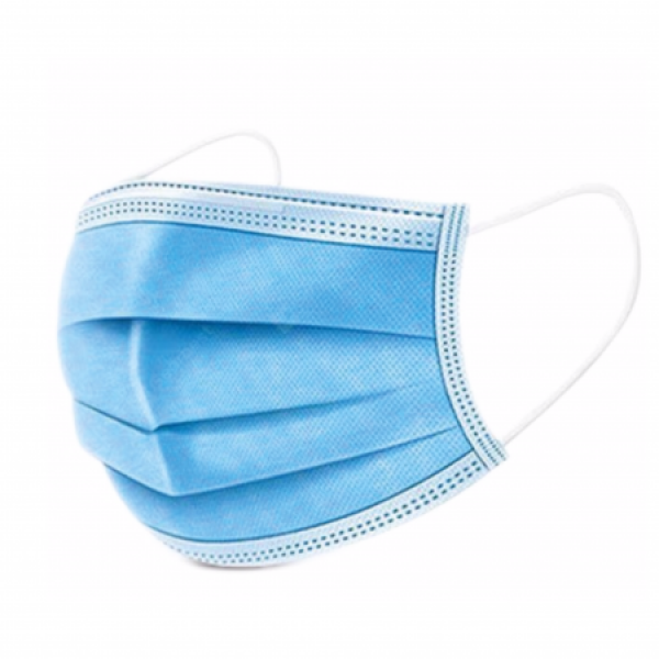 Disposable Face Masks – Blue - 50 pcs