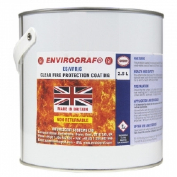 Envirograf ES/VFR Clear Fire Protection Coating