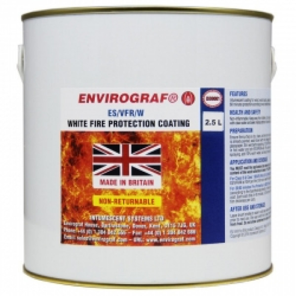 Envirograf ES/VFR White Fire Protection Coating