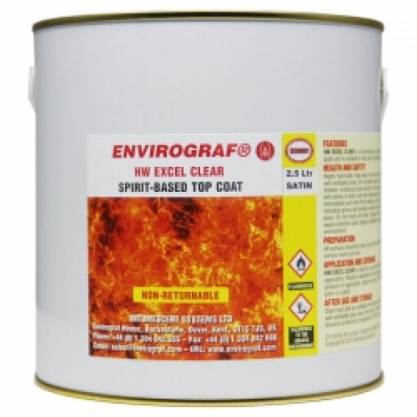 Envirograf HW Excel Clear Top Coat