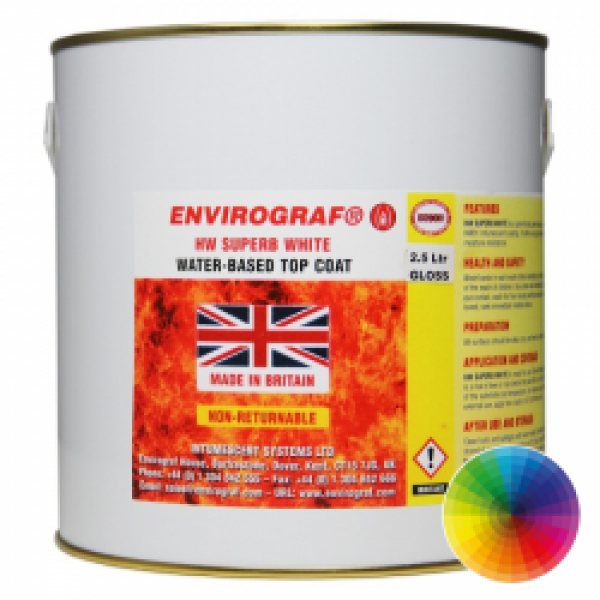 Envirograf HW Superb Top Coat White