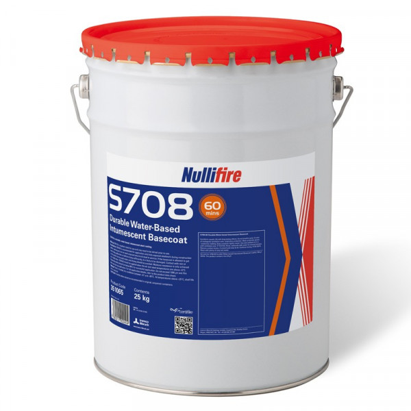 Nullifire S708 Durable Water-Based Intumescent Basecoat