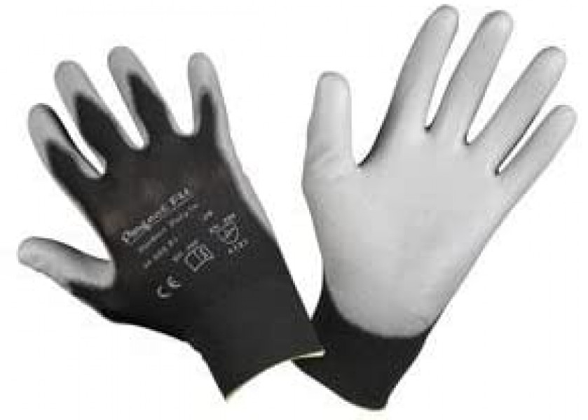 Perfect Fit Gloves Black Size 9