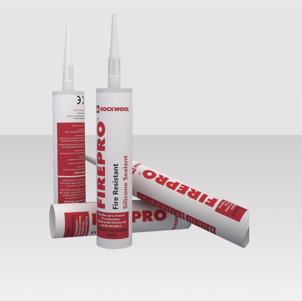 RockWool Fire Rated Silicone Sealant