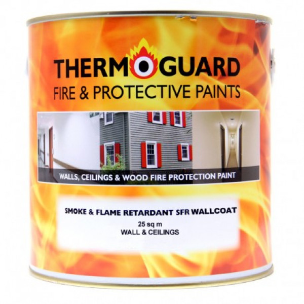 Thermoguard Wallcoat SFR – Smoke & Flame Retardant Topcoat